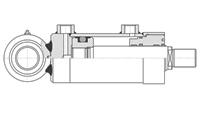 Гидравлический цилиндр серии mp5