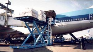 Гидравлические подъёмные столы находят широкое применение при погрузочных операциях и на складах