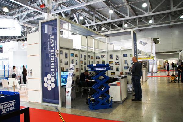 Команда Гидроласт на выставке Семат 2014