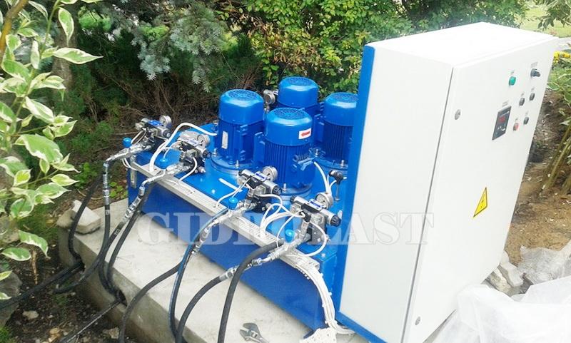 Масляная гидростанция смазки