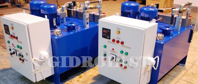 Гидростанции производства Gidrolast (Россия)