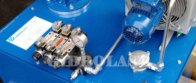 Гидростанции производства Gidrolast для гидравлических цилиндров
