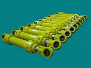 Гидроцилиндры для использования в поворотных механизмах