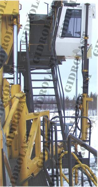 Гидроцилиндры установок для бурения и ремонта скважин нефтедобычи