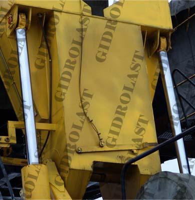 Гидроцилиндры установок для бурения и ремонта скважин