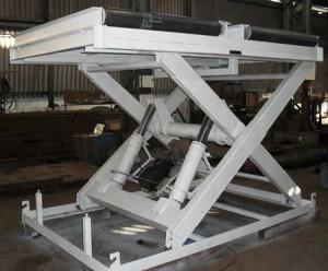 Типовая гидравлическая подъемная платформа - устройство и условия эксплуатации