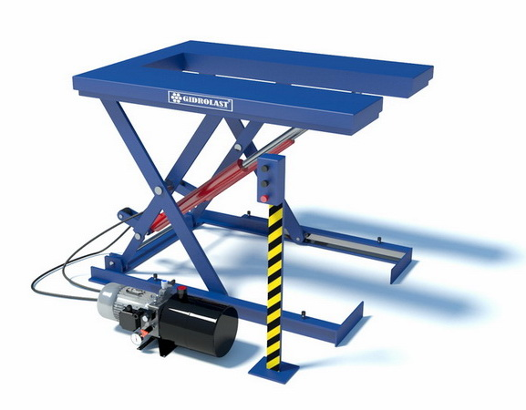 Стационарные ножничные подъемные столы