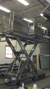 гидравлическая подъемная платформа - устройство и безопасность эксплуатации