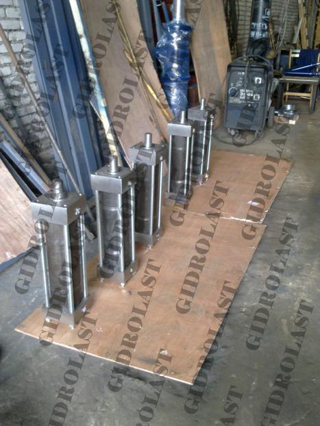 гидравлические цилиндры серии HC2 по DIN24554
