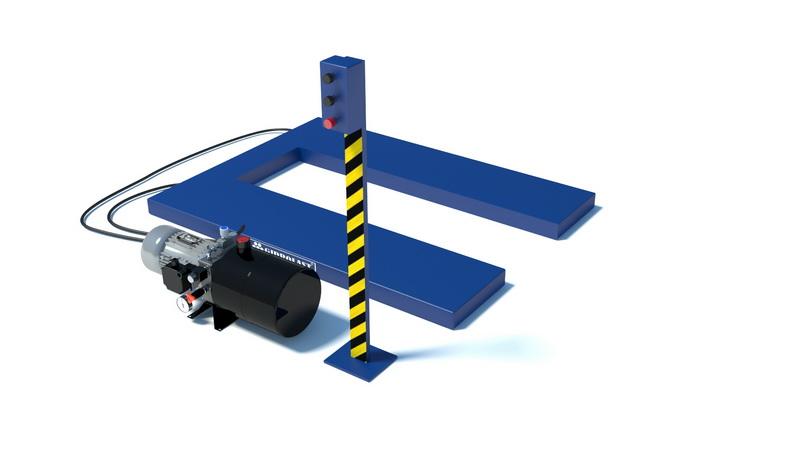 Производство грузовых подъемников для паллет