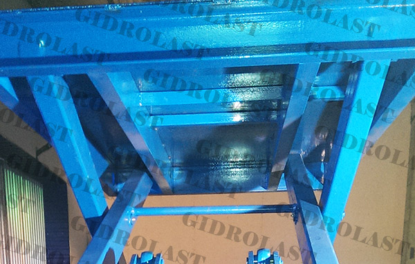 Усиленная платформа подъемного стола