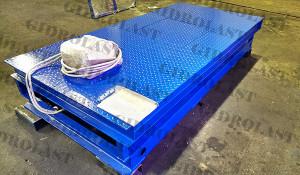 Двухножничный подъемный гидравлический стол модели Gidrolast