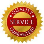 Качество сервиса гарантировано