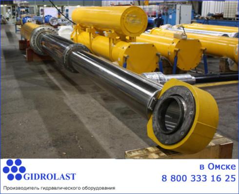 Гидроцилиндры в Омске и другое гидравлическое оборудование
