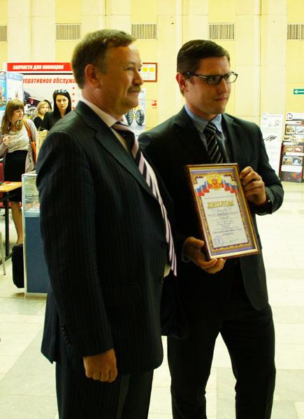 Президент СТПП И.Т.Сагитов и Директор ЗГО А.Н.Романов