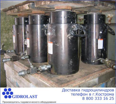 Продажа и доставка гидроцилиндров в Костроме