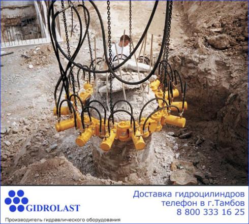 Продажа и доставка гидроцилиндров в Тамбове