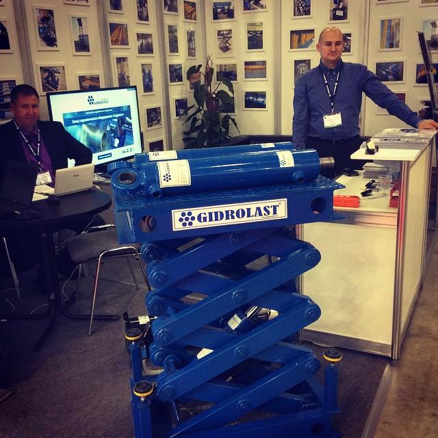 Стенд Гидроласт на Cemat Russia 2014