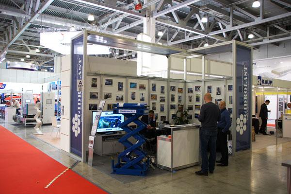 Стенд Гидроласт на Международной выставке CEMAT 2014