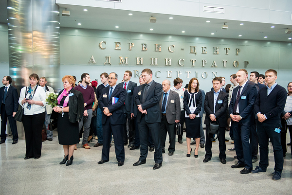 Торжественное открытие выставки СТАНКОСТРОЕНИЕ-2014