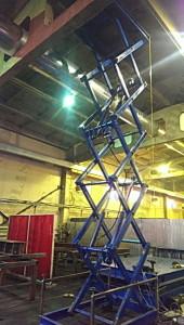 ножничные грузовые подъемные платформы