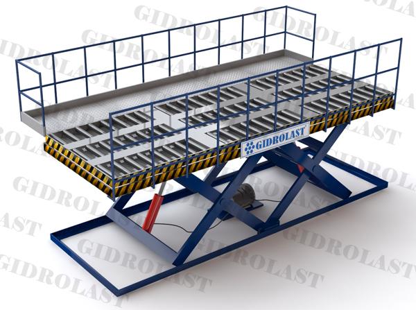 Подъемные столы для авиаконтейнеров 1