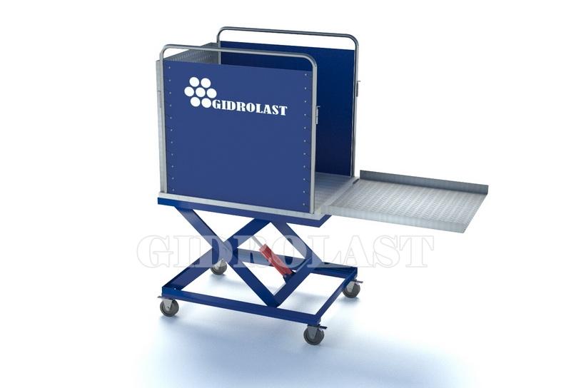 Грузовой подъемник для инвалидов на коляске