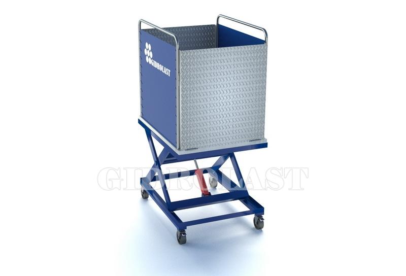 Гидравлический подъемник для подъема инвалидной коляски