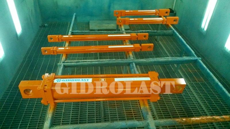 Заказ гидроцилиндров для сталепрокатного завода