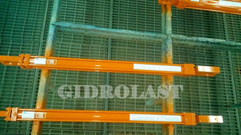 Маркировка гидравлического оборудования перед упаковкой