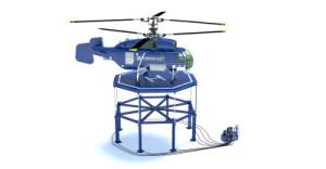 Производство вертолетной площадки