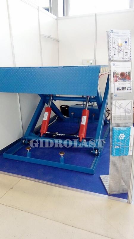 Выставочный стенд компании Gidrolast