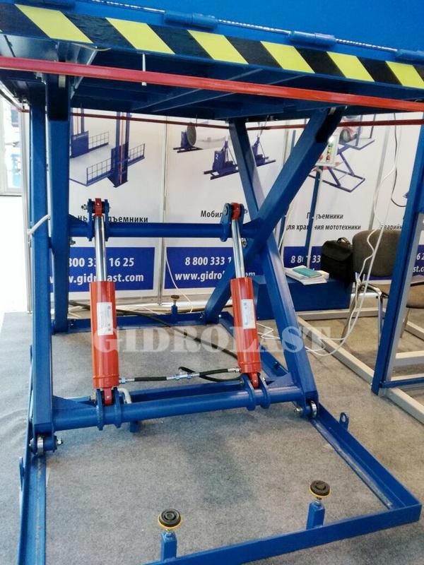 Гидравлическое оборудование на выставке