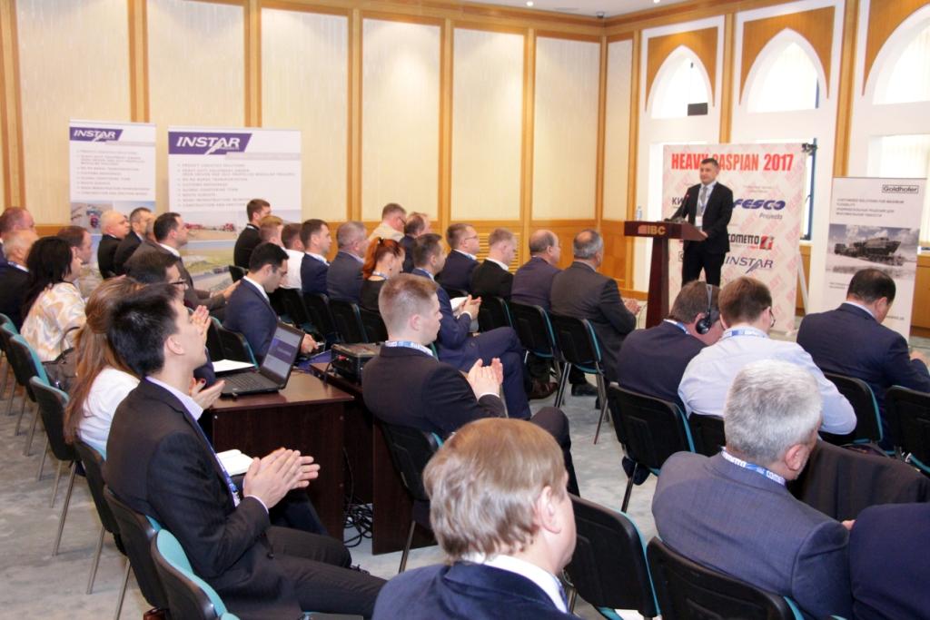 Выступления участников конференции Heavy Caspian 2017