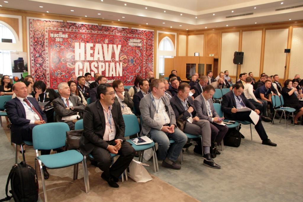 Участники конференции Heavy Caspian 2017