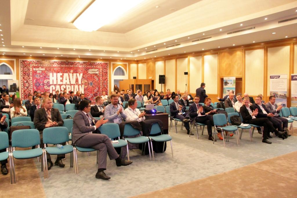 Зал для участников конференции Heavy Caspian 2017