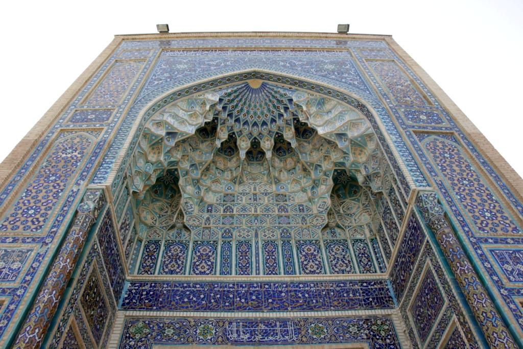 Голубые орнаменты Самарканда