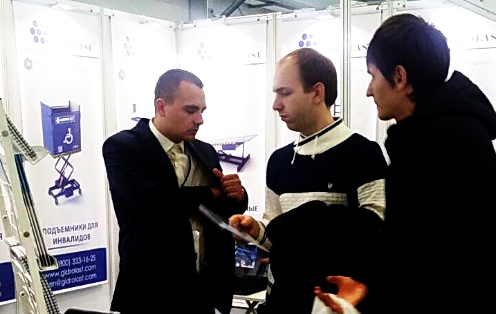 На выставке специалисты нашей компании знакомили гостей с продукцией концерна