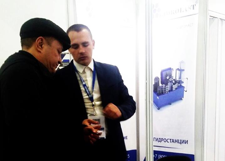 Сотрудники ЗГО Гидроласт заинтересованы в укреплении деловых связей с компаниями из Поволжья.